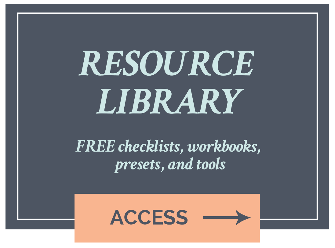 Sign up for the FREE resource library >>