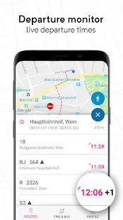 wegfinder: public transport, ticket, route planner