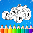 Cars Coloring Book Games for Boys APK