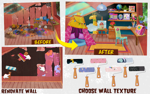 Messy House Cleanup Girls Home Cleaning Activities android2mod screenshots 9