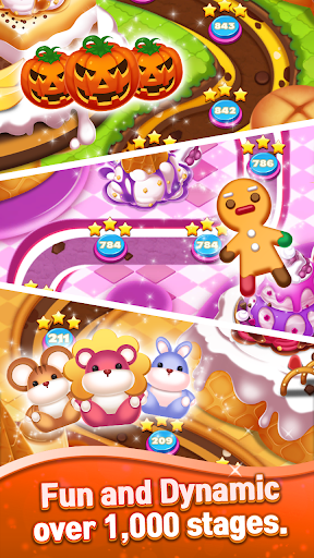 Sweet Cookie World : Match 3 Puzzle screenshots 14