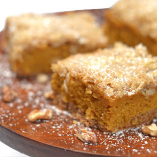 Spice Cake Pumpkin Bars