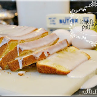 Lemon-glazed Pound Cake