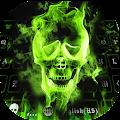 Hellfire Skull keyboard Uniqueness Theme download