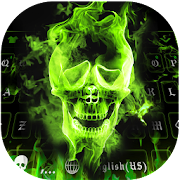Hellfire Skull keyboard Uniqueness Theme  Icon