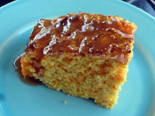 "Sweet Potato Cornbread with Cinnamon Honey Butter ""It has a mild sweetness..."