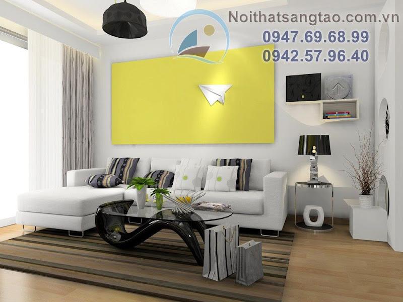 thiết kế phòng khách 25m2