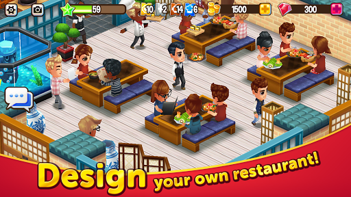 Food Street - Restaurant Management & Food Game 0.50.8 screenshots 1