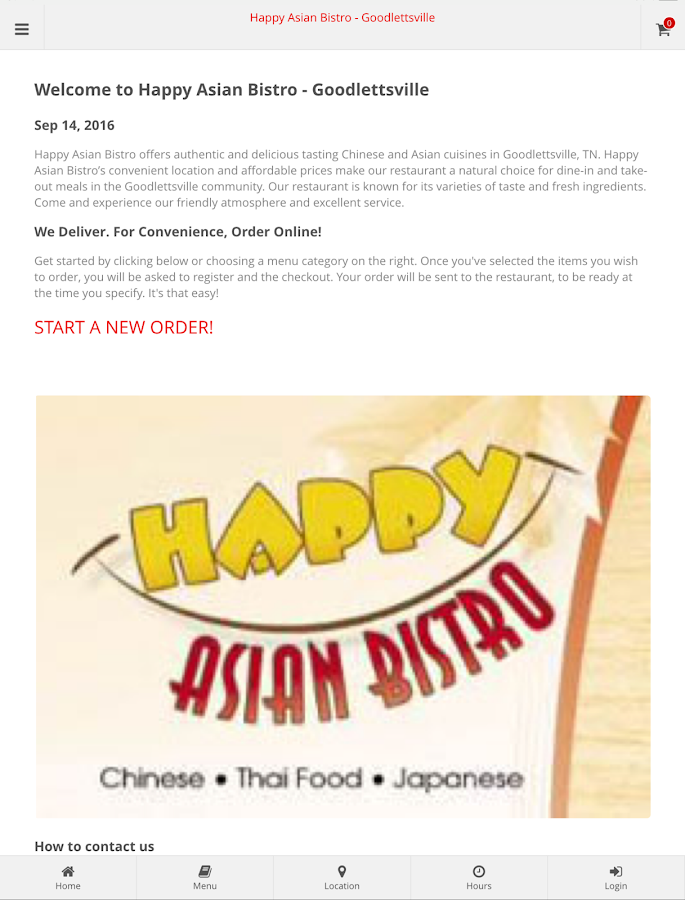 Happy Asian Bistro- screenshot
