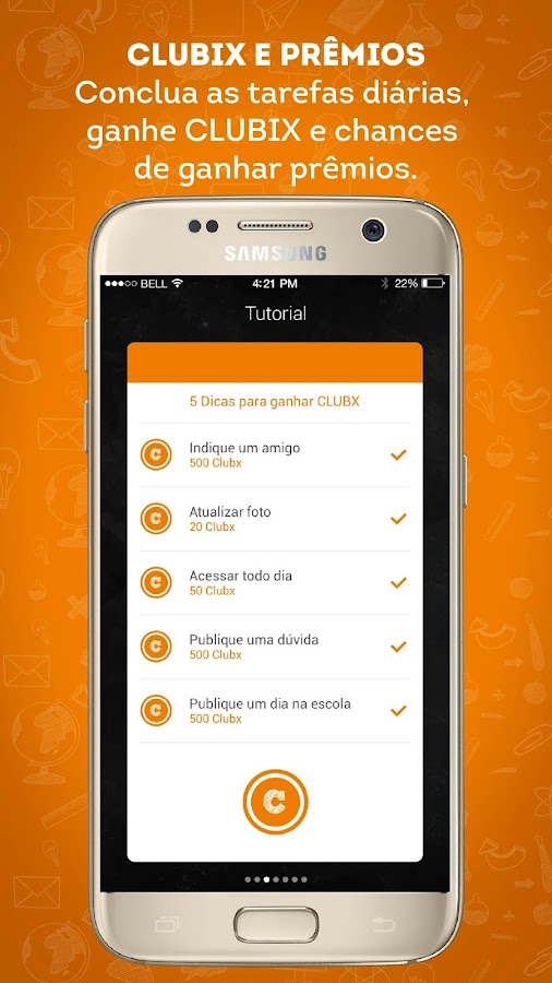 CLUBEaluno- screenshot