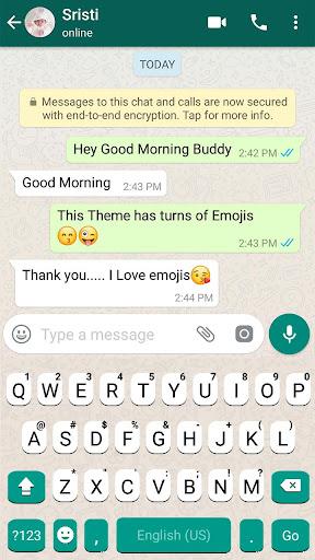SMS Messenger Keyboard screenshots 2