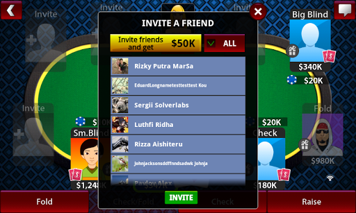 Texas Holdem Poker Online Free - Poker Stars Game 2.4.3.1 screenshots 7