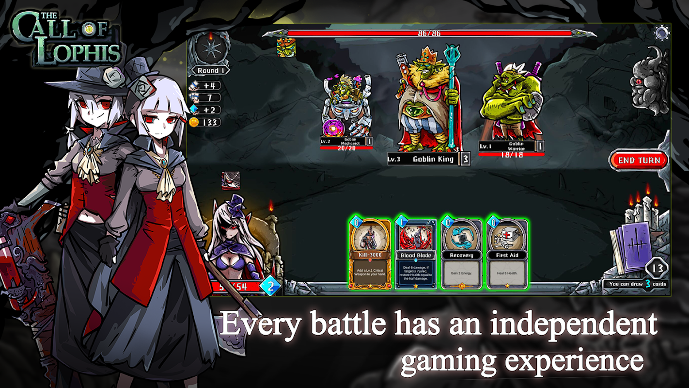 Dark Dungeon Survival: Lophis Fate Card Roguelike screenshots