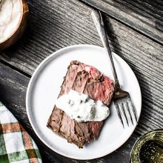 Instant Pot Herbed Prime Rib Roast with Horseradish Cream Sauce Recipe