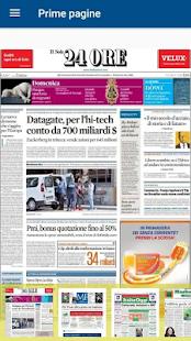 Prime pagine Pro Screenshot