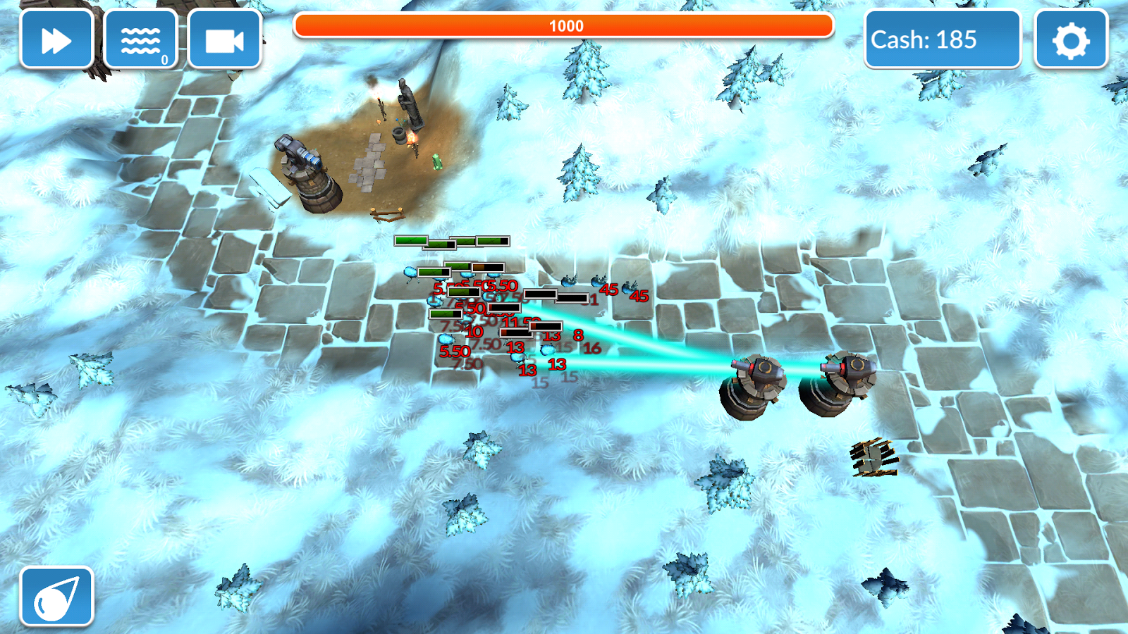 Fantasy Tower Defence 3D- screenshot