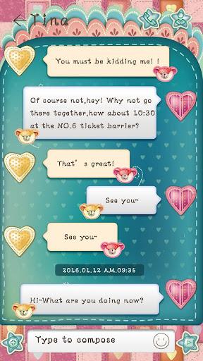 免費下載個人化APP|GO SMS PRO TEDDY THEME app開箱文|APP開箱王