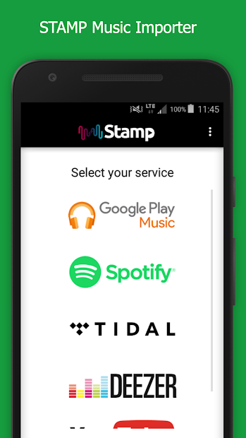 STAMP: Music Importer Transfer Your Playlists