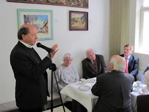 Photo: Pfarrer em. Karl-Ludwig Herzig berichtet aus seinem Leben