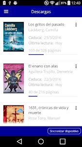 Bibliotecas Diputación Badajoz screenshot 2