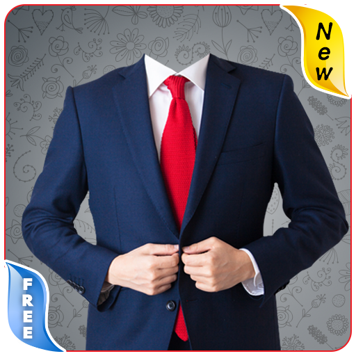 Stylish Man Photo Suit