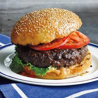 Best Ever Juicy Burgers.