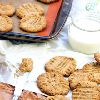 Healthy Peanut Butter Cookies.