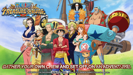 LINE: ONE PIECE TreasureCruise mod apk