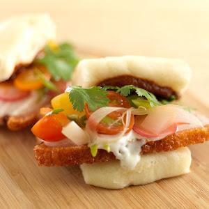 Latin-style Pork Belly Bao Bun