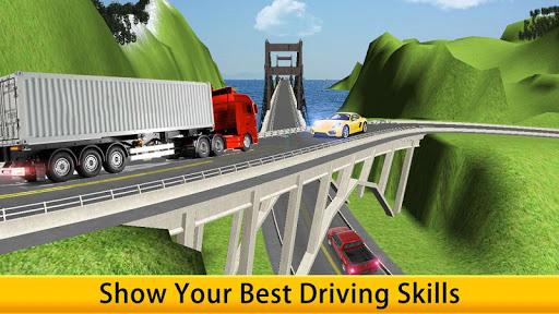 Lorry Truck Driver Cargo Free apk screenshot 6