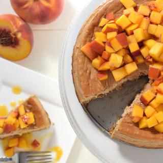 Peach Cheesecake.