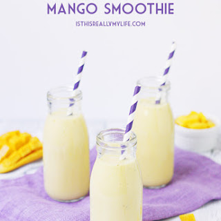 Pineapple Coconut Mango Smoothie Recipe