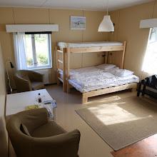 Photo: Huoneeseen ja keittiön sivustavedettävään olisi majoittanut jopa 4-5 henkeä.