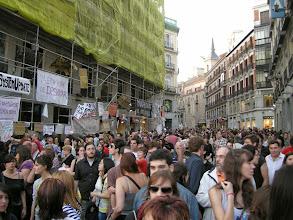 Photo: Puerta del Sol, Madrid, Movimiento 15-M, 21 de mayo de 2011, a2
