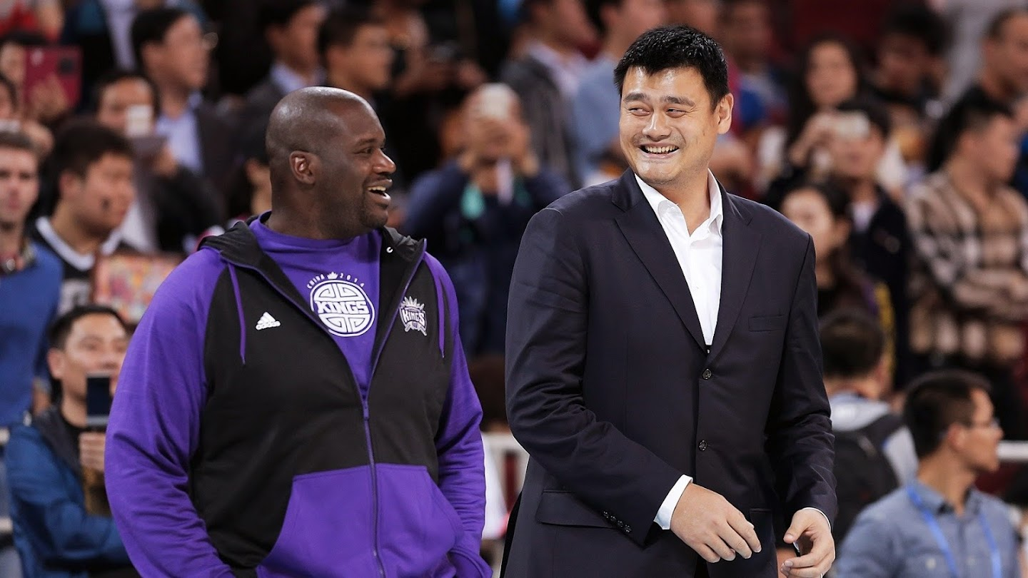 Watch Centers of the Universe: Shaq & Yao live