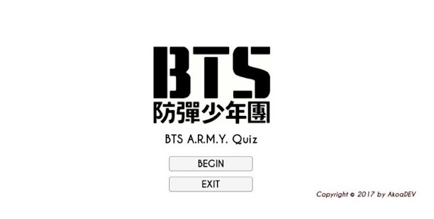 BTS ARMY Testi - Hayran Quiz Uygulaması Türkçe Ekran Görüntüsü