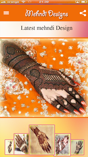2018 All Trendy Mehndi Designs 1.1 screenshots 2