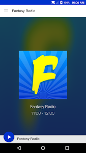 Fantasy Radio screenshot 0