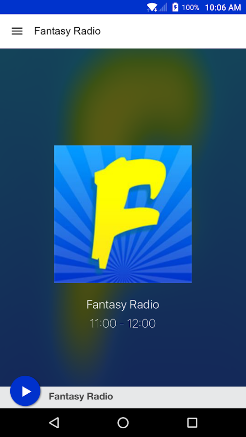 Fantasy Radio- screenshot