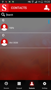 Supernet dialer screenshot 1