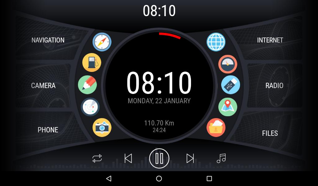 Curve - theme for CarWebGuru launcher