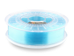 Fillamentum Crystal Clear Iceland Blue PLA - 1.75mm (0.75kg)