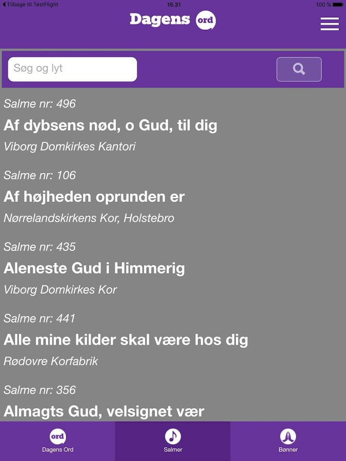 DagensOrd- screenshot