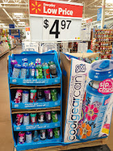 Photo: We had a few other items to get, but on the way we stopped to look at this back to school display. It was hard to miss and we are looking for some new drink containers that might work for school days.