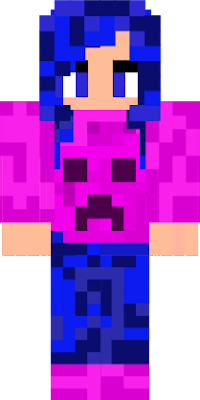 gal with pink creeper shirt