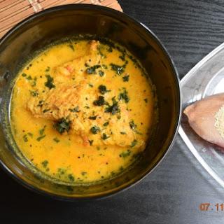 Posto Bata Macher Jhol ( Fish Masala Curry With Poppyseed Paste).
