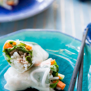 Vietnamese Pork Summer Rolls