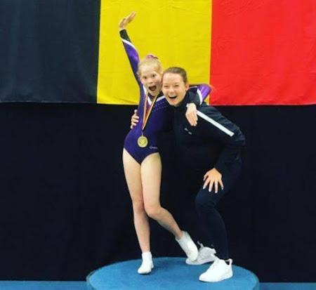 Onze trampolinegymnasten sprokkelen medailles op het BK!