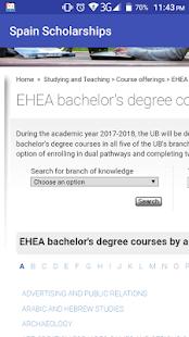 Spain Scholarships - náhled