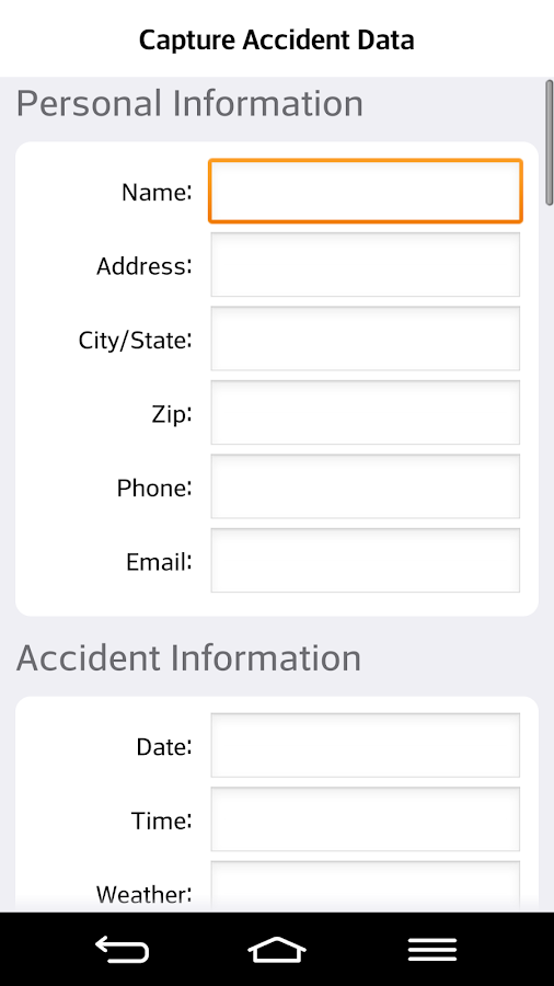 Auto Accident Help Center- screenshot